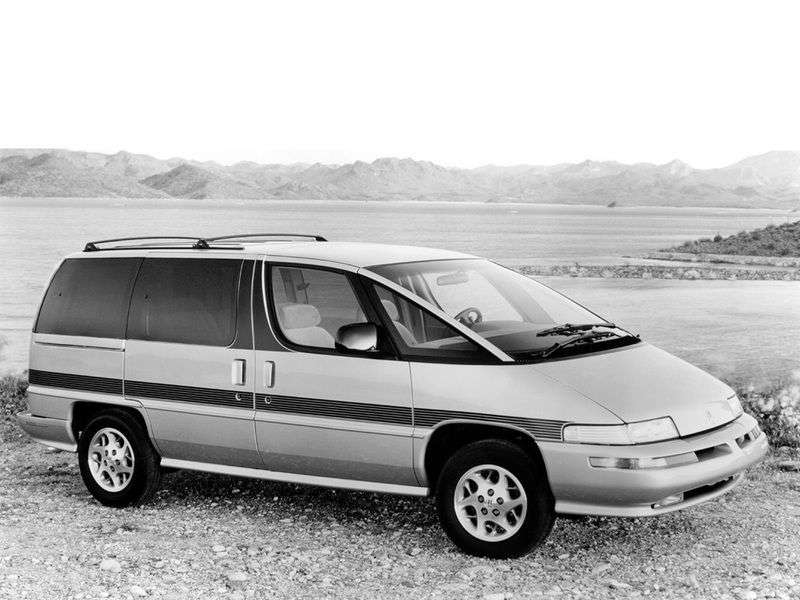 Oldsmobile Silhouette 1st generation minivan 3.1 AT (1989–1996)