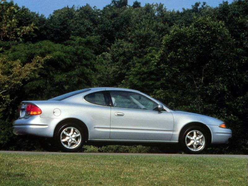 Oldsmobile Alero 1st generation coupe 2.4 AT (1998–2002)