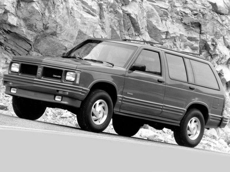 Oldsmobile Bravada 1st generation crossover 4.3 AT AWD (1990–1995)