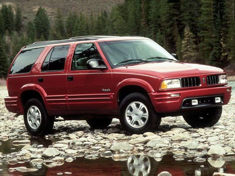 Oldsmobile Bravada 2nd generation crossover 4.3 AT (1995–2001)