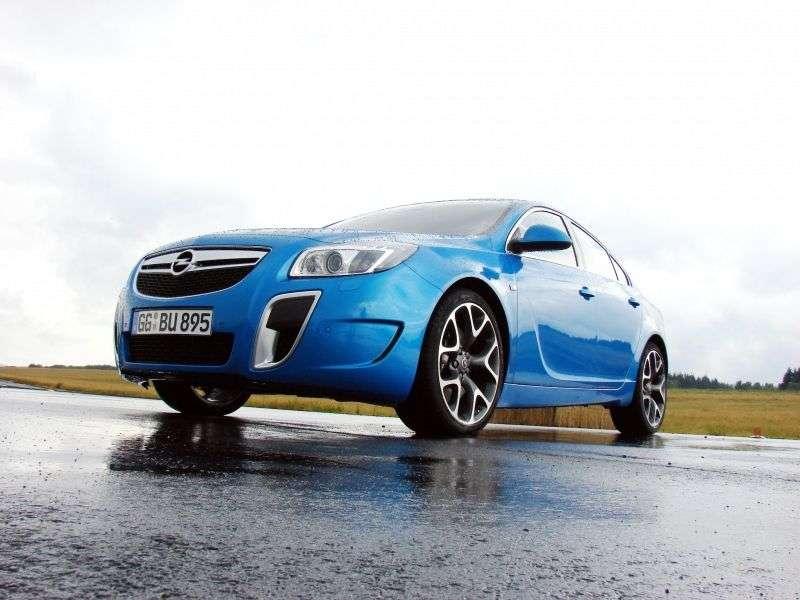 Opel Insignia 1st generation OPC liftback 5 dv. 2.8 Turbo AT 4x4 OPC (2009 – n. In.)