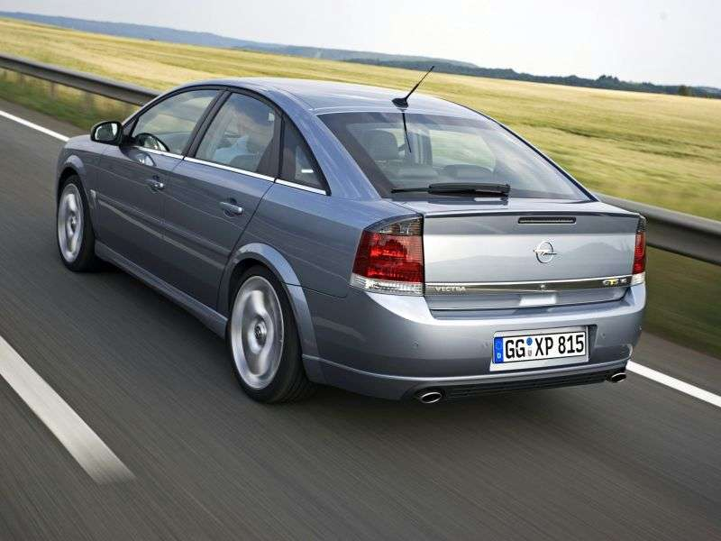 Opel Vectra C [restyling] GTS hatchback 5 dv. 2.2 direct 6MT (2005–2007)