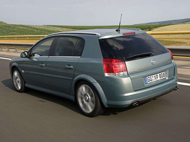 Opel Signum C [restyled] universal 1.9 CDTI MT (2005–2008)