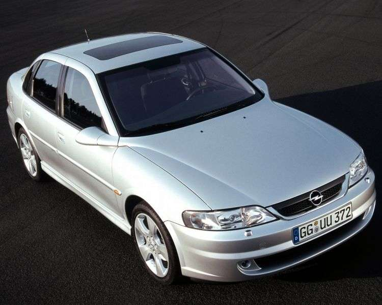 Opel Vectra B [restyling] 4 door sedan 1.8 AT (2000–2002)