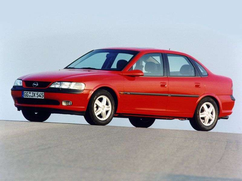 Opel Vectra Bsedan 4 bit 1.8 AT (1998–1999)