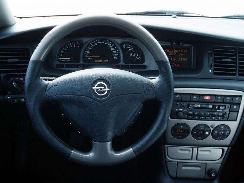 Opel Vectra B [restyling] i500 wagon 5 bits. 2.5 MT (1999–2000)