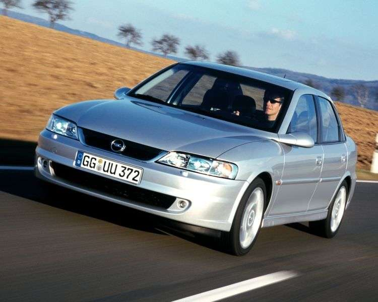 Opel Vectra B [restyling] 4 door sedan 2.0 DTI MT (1999–2002)