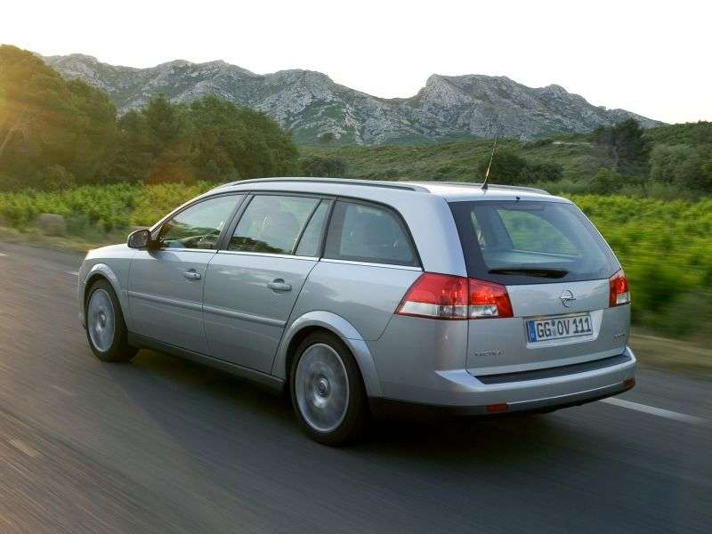 Opel Vectra C [restyling] wagon 5 bit 1.8 MT (2005–2009)