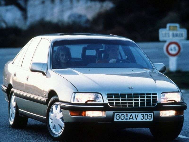 Opel Senator 2nd generation sedan 3.0 AT (1988–1993)