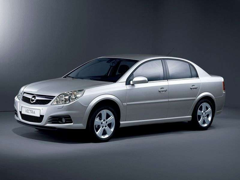 Opel Vectra C [restyling] 2.8 Turbo MT sedan (2005–2006)