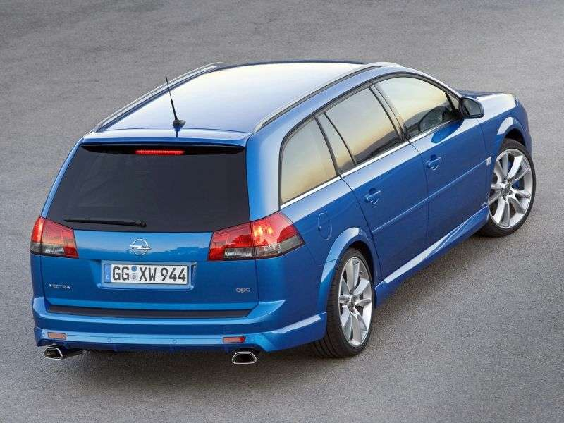 Opel Vectra C [restyling] OPC wagon 5 bit. 2.8 AT (2007–2008)