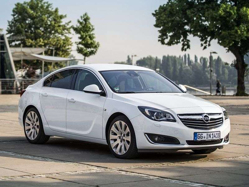 Opel Insignia 1st generation [restyled] sedan 1.6 SIDI Turbo ecoFLEX AT Cosmo (2013 – n.)