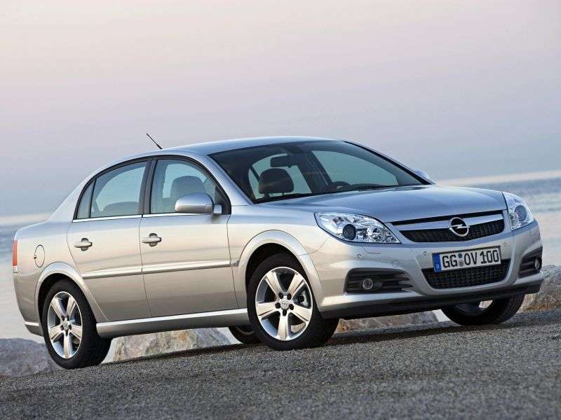 Opel Vectra C [restyling] 2.2 Direct 5MT sedan (2005–2007)
