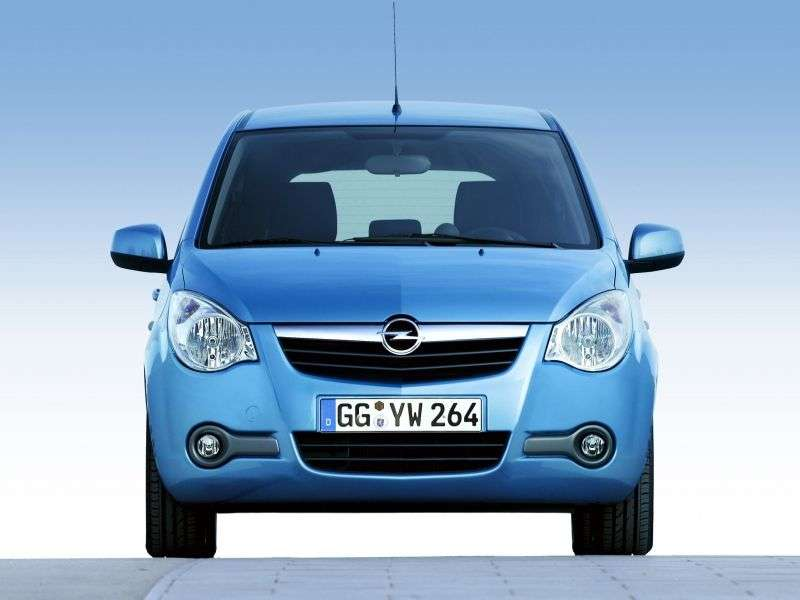 Opel Agila 2nd generation hatchback 1.2 AT (2008–2010)