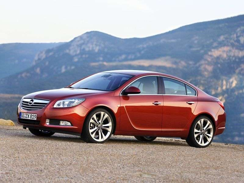 Opel Insignia 1st generation 4 door sedan 2.0 Turbo AT Sport (2009 – present)