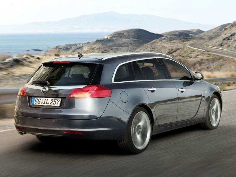 Opel Insignia 1st generation Sports Tourer 5 speed wagon. 1.8 MT Elegance (2009 – present)