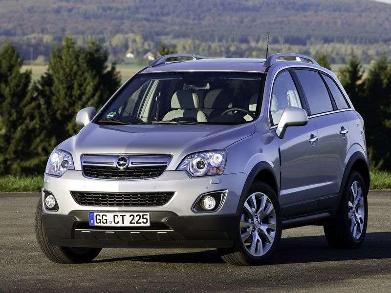 Opel Antara 1st generation [restyled] crossover 2.4 AT AWD Cosmo (2011 – n.)