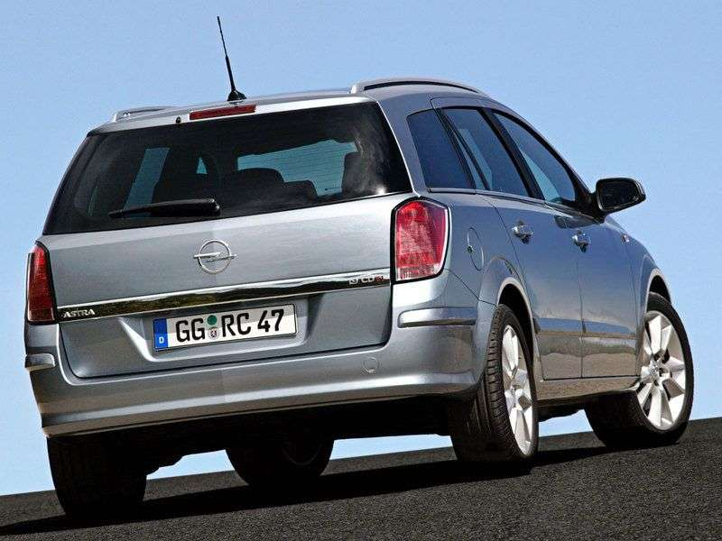 Opel Astra Family / H [restyling] 1.6 MT Cosmo station wagon (2007 – current century)