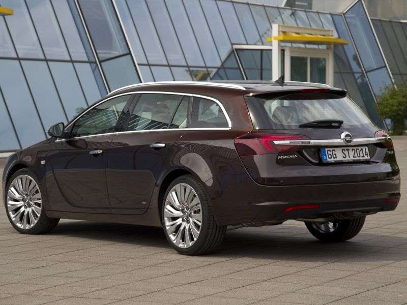 Opel Insignia 1st generation [restyled] Sports Tourer wagon 5 dv. 1.4 Turbo ecoFLEX MT (2013 – present)