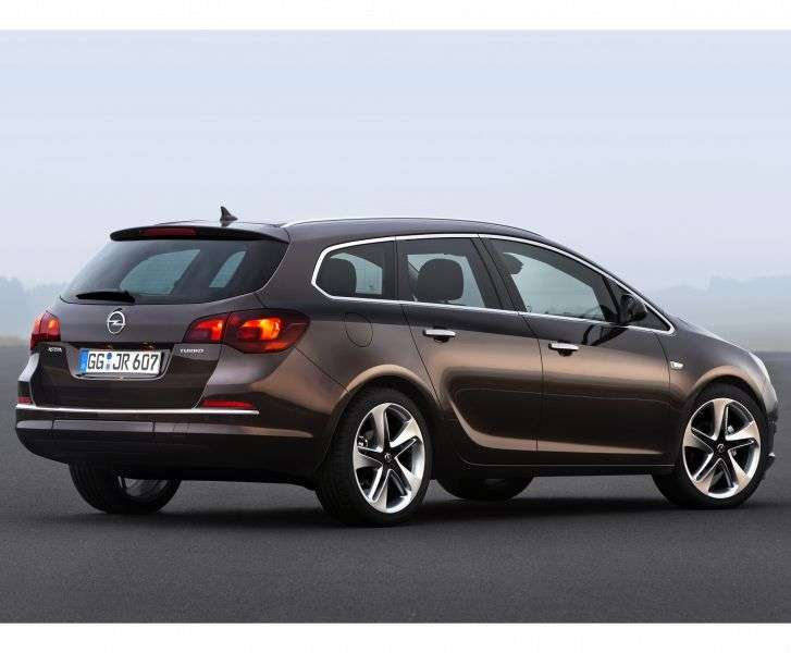 Opel Astra J [restyling] Sports Tourer wagon 1.6 ecoFLEX MT (2012 – n.)