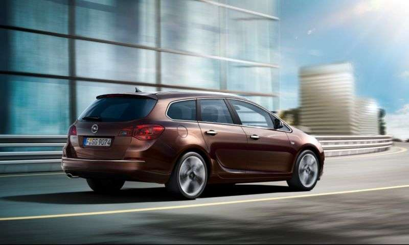 Opel Astra J [restyled] Sports Tourer wagon 1.4 Turbo ecoFLEX MT (2012 – n.)