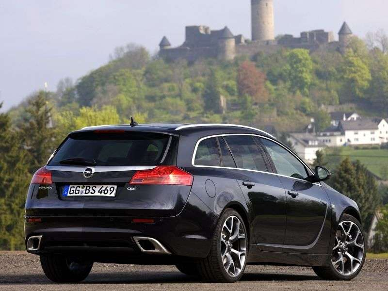 Opel Insignia 1st generation Sports Tourer OPC 5 speed wagon. 2.8 Turbo AT 4x4 OPC (2009 – n. In.)