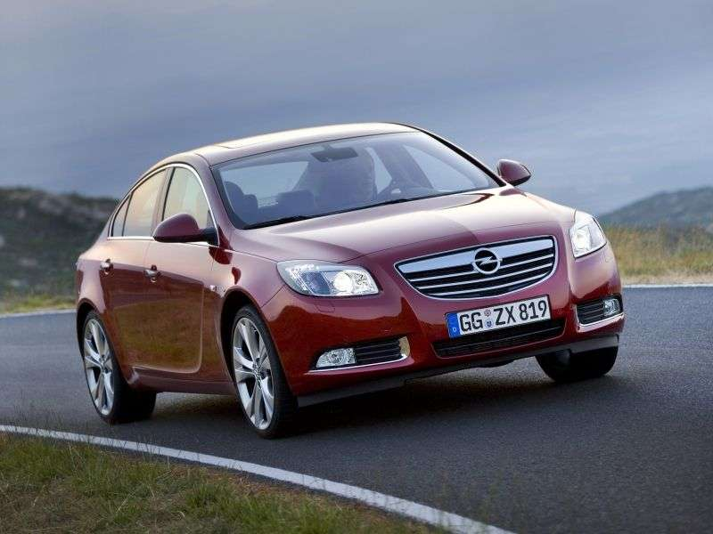 Opel Insignia 1st generation 4 door sedan 2.0 Turbo MT Elegance (2009–2011)