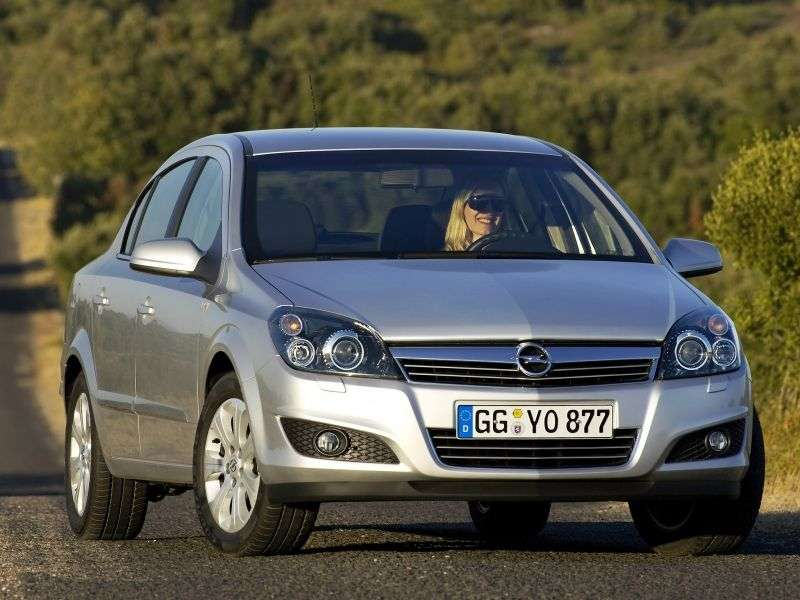 Opel Astra Family / H [restyling] 1.8 AT Cosmo Sedan (2007 – current century)
