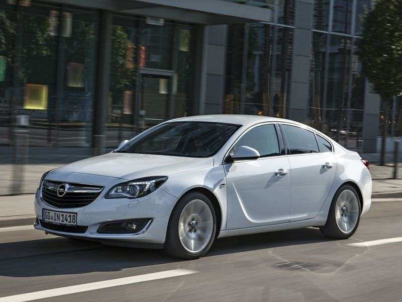 Opel Insignia 1st generation [restyled] sedan 2.0 SIDI Turbo ecoFLEX AT 4x4 Cosmo (2013 – n.)