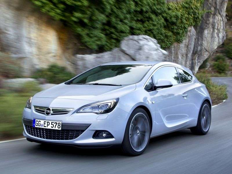 Opel Astra JGTC hatchback 3 dv. 1.4 Turbo MT (2011 – n. In.)