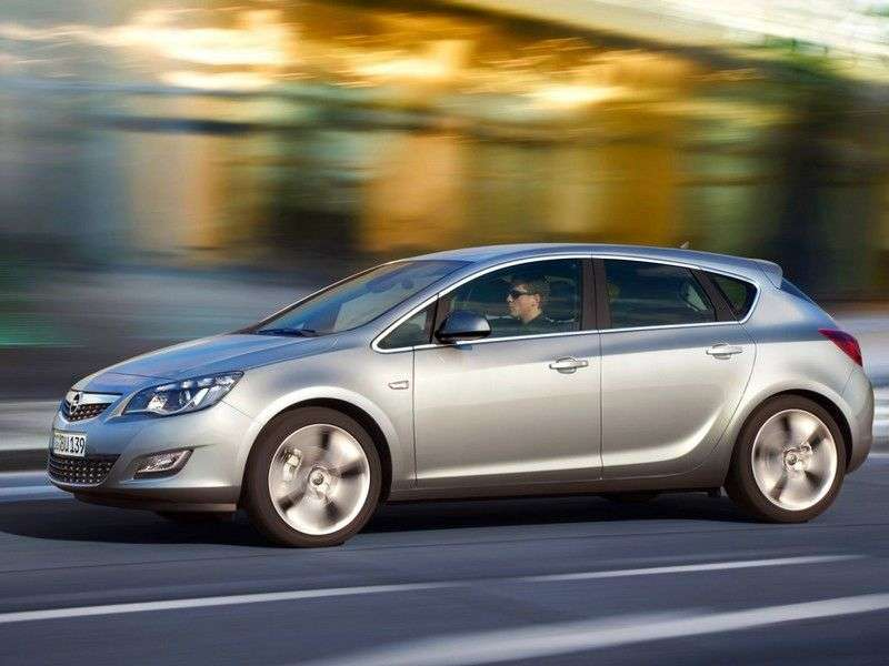 Opel Astra JHatchback 5 dv. 1.6 AT Enjoy (2009–2012)