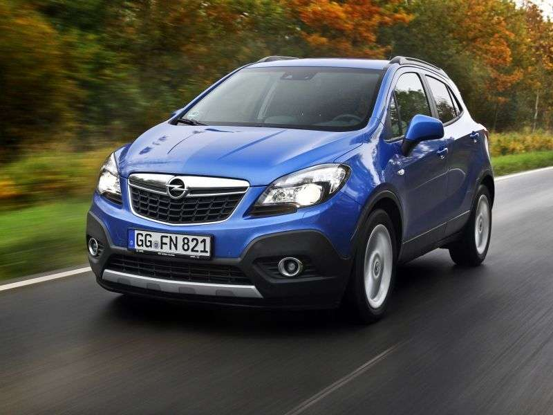 Opel Mokka 1st generation crossover 1.7 CDTI AT (2012 – n.)