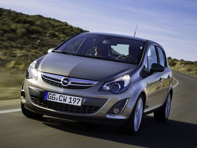 Opel Corsa D [restyling] 5 dv hatchback 1.2 MT Enjoy (2010 – n.)