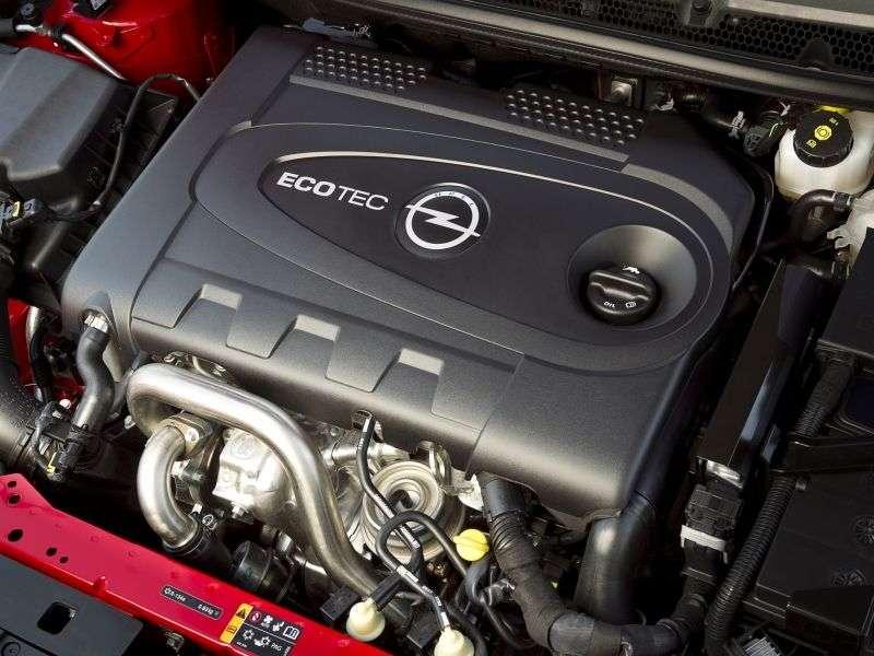 Opel Astra J [restyling] Biturbo hatchback 5 dv. 2.0 CDTI ecoFLEX MT (2012 – current century)