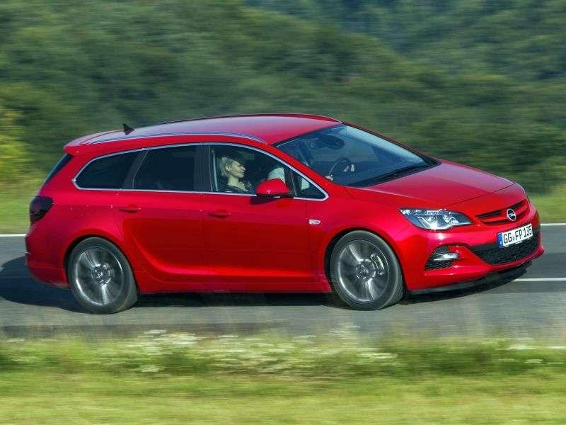 Opel Astra J [restyling] BiTurbo Sports Tourer wagon 5 dv. 2.0 CDTi MT (2012 – present)