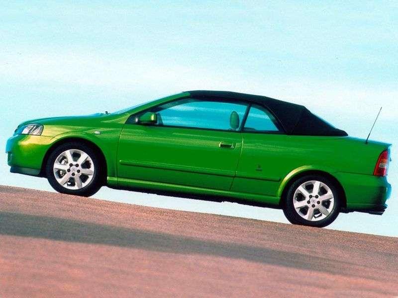 Opel Astra Gcabriolet 2.0 MT (2001–2006)