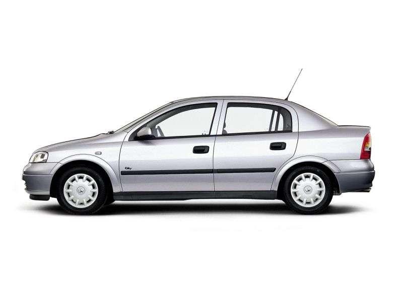Opel Astra Gsedan 4 dv. 2.0 Di MT (1998–2004)