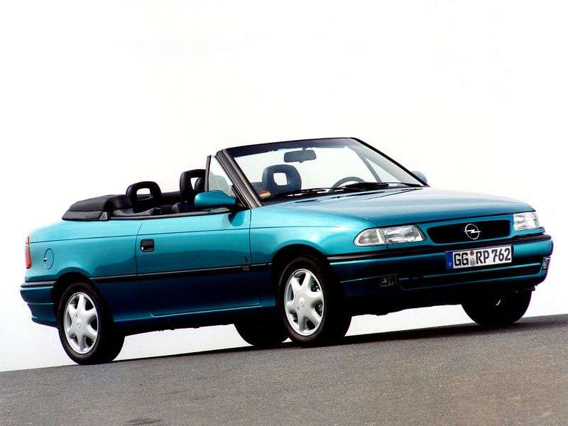 Opel Astra F [restyling] 1.6 AT cabriolet (1994–1998)