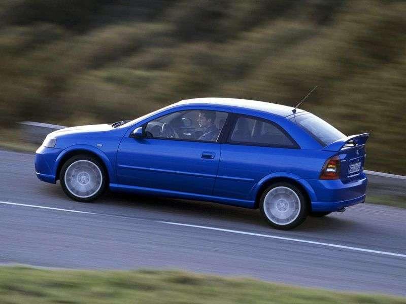 Opel Astra GOPC hatchback 3 dv. 2.0 MT (1999–2000)