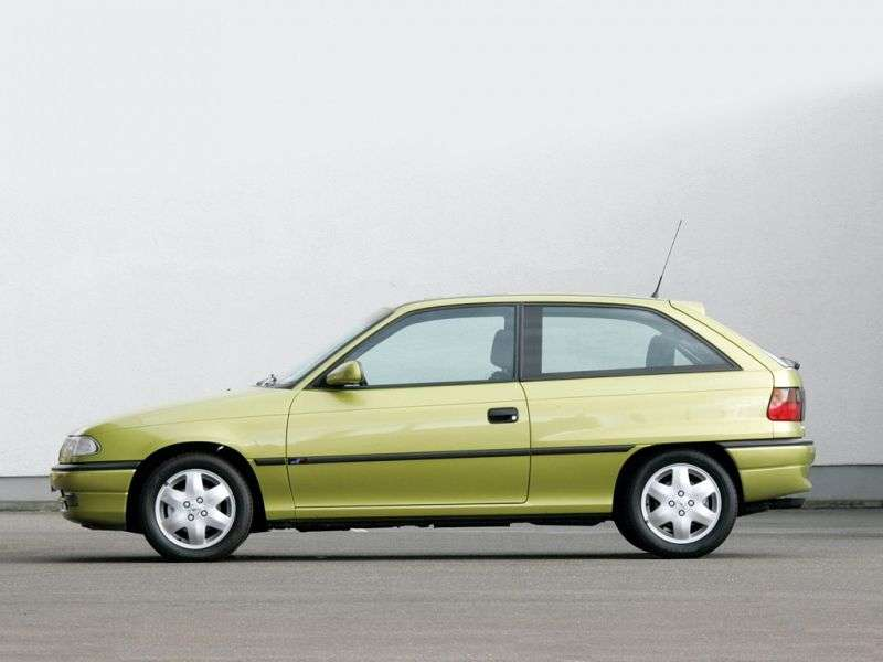Opel Astra F [restyling] 1.6 AT hatchback (1994–1996)