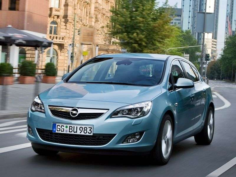 Opel Astra JHatchback 5 dv. 1.6 Turbo MT (2009–2012)