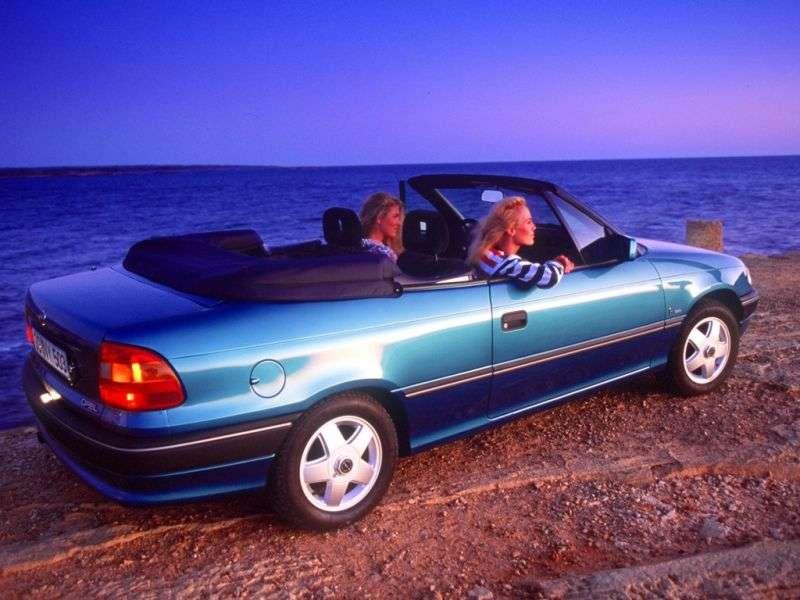 Opel Astra Fabriolet 2.0 MT (1993–1994)