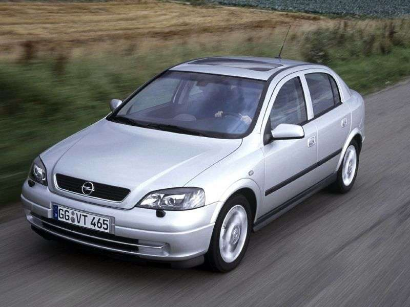Opel Astra Ghetchbek 5 dv. 2.0 Di AT (1998–2004)