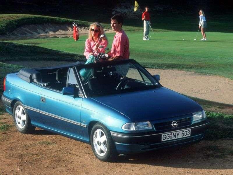 Opel Astra Fc Cabriolet 1.6 AT (1993–1994)