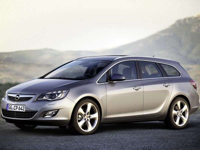 Opel Astra JSports Tourer wagon 2.0 CDTI AT (2011–2012)