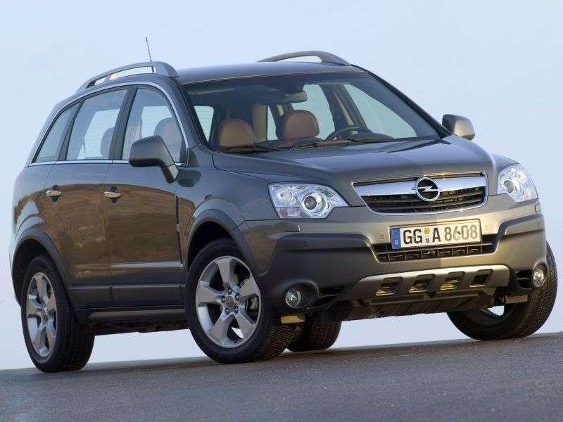 Opel Antara 1st generation crossover 2.4 MT AWD Enjoy (2006–2011)