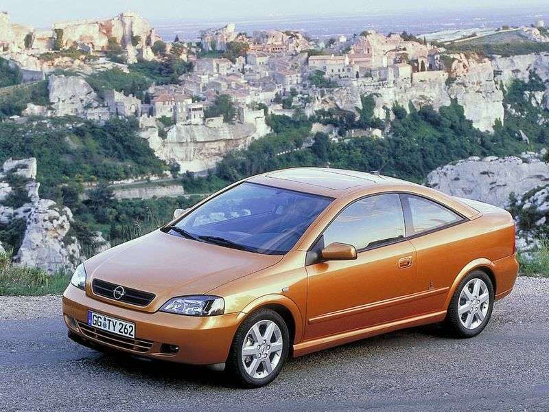Opel Astra Group 2.0T MT (2000–2006)