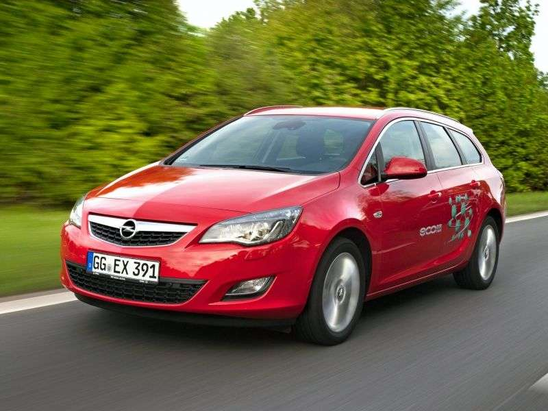 Opel Astra JSports Tourer wagon 1.6 AT Cosmo (2010–2012)