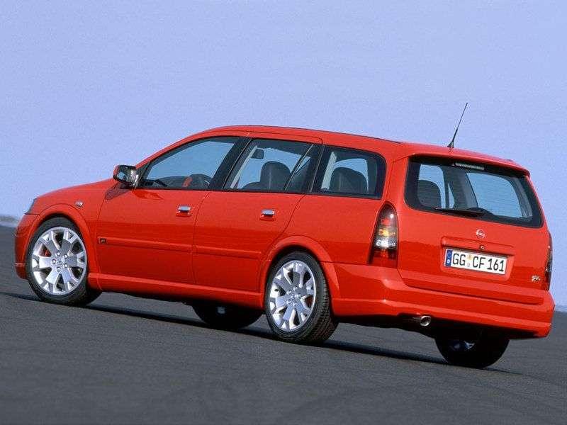 Opel Astra GOPC wagon 5 bit. 2.0T MT (2002–2004)
