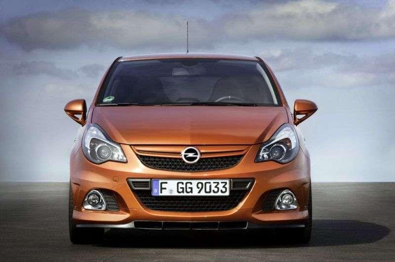 Opel Corsa D [restyling] OPC hatchback 3 dv. 1.6 Turbo MT OPC (2012–2013)